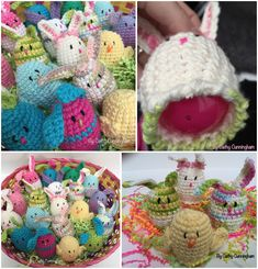 Crochet these adorable sweet treat bunnies using a free pattern by our very own Cathy. These will definitely bring someone some smiles.