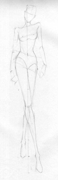 croquis for fashion drawing - Google Search:
