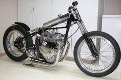 Another vintage Triumph drag bike