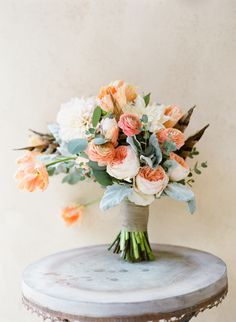 Vibrant boho blooms: http://www.stylemepretty.com/2015/11/04/colorful-vibrant-bohemian-inspired-wedding-in-texas-hill-country/ | Photography: Mint Photography - http://mymintphotography.com/