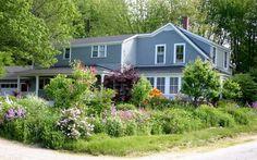 Gray farmhouse
