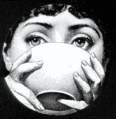 FORNASETTI - a woman's face