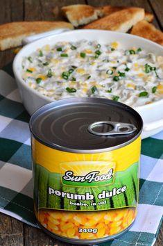 Salata cu piept de pui, porumb si maioneza - CAIETUL CU RETETE Holiday Recipes, Baking Soda, Salad Recipes, Goodies, Dinner, Food Salad, Blog, Beds, Sweet