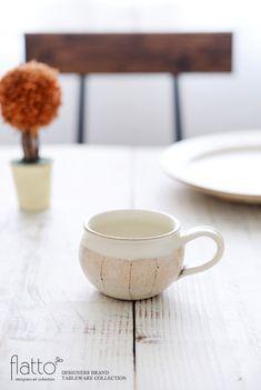 たて鉄線コーヒーカップ/作家「古谷浩一」/和食器通販セレクトショップ「flatto」