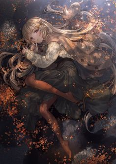 Discovered by Find images and videos about girl, art and anime on We Heart It - the app to get lost in what you love. Pretty Anime Girl, Beautiful Anime Girl, Kawaii Anime Girl, Anime Art Girl, Manga Girl, Anime Girls, Cute Anime Character, Character Art, Anime Fantasy