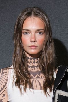 All The Rich-Girl Hair of Fashion Month  Dsquared2