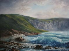 """""""The Rugged Coast"""" by Kevin Hill paintwithkevin.com"""