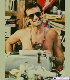 Gonzo hated Nixon. Bill Murray played Gonzo in Where the Buffalo Roam. Does that mean Bill Murray hates Nixon, too. To be fair, who doesn't hate Nixon.