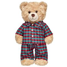 Each and every one of our adorable Teddy bears clothes have a personality of their own. Display yours with Teddy bear clothing from Build-A-Bear Workshop. Steiff Teddy Bear, Boyds Bears, Build A Bear Clothes Pattern, Teady Bear, Bear Puppy, Build A Bear Outfits, Teddy Bear Clothes, Pajama Pattern, Cute Teddy Bears