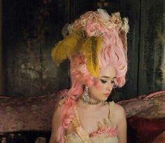 Marie Antoinette... LOVE the pink!