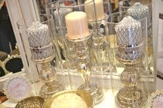 Lene Bjerre candles, from £7.95