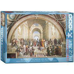 School of Athens by Raphael 1000-Piece Puzzle EuroGraphics http://www.amazon.com/dp/B004LT994Y/ref=cm_sw_r_pi_dp_wdYXvb17ZKG3Y