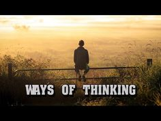 Think Then Sprint Ahead. The world is spherical think straight if a problem is arithmetical sprint ahead a decluttered mind is accurate focused and sound a geometric capacity thats a sound mind. Video- Ways of Thinking:  via simplir.me