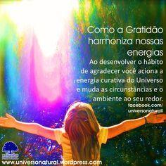 Como a Gratidão harmoniza nossas energias  universe natural