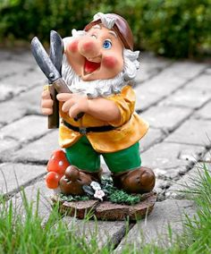#Nain de jardin amusant avec ciseaux #bakker  http://www.bakker.fr/produit/nain-de-jardin-amusant-avec-ciseaux/