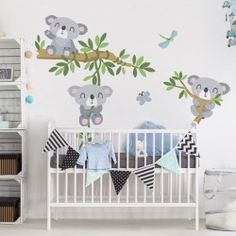 Fresh Koala set wall decal sticker in different sizes
