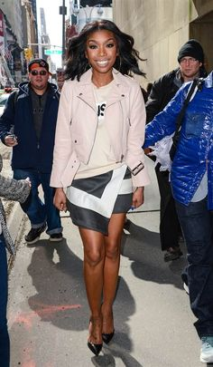 Brandy Norwood commercial look, papp style