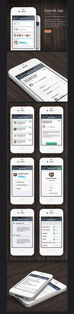 Gigwalk iPhone app