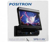 """DVD Automotivo Pósitron SP6111AV - Tela Retrátil 7"""" Entrada USB + Entrada Micro SD com as melhores condições você encontra no Magazine Fernandes2. Confira!"""