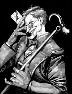 Joker and Steampunk by macbethoff