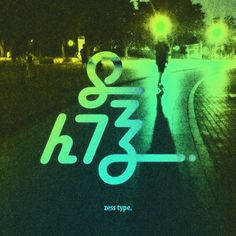 Go Logo, Typography, Lettering, Neon Signs, Illustration, Movie Posters, Empty, Editorial, Korean