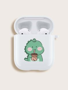 Cute Ipod Cases, Air Bud, Dinosaur Pattern, Earphone Case, Tablet, Airpod Case, Aesthetic Colors, Teenager Outfits, Apple Products