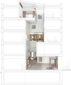 11 Gemeindehaus Shcnitt Lichthof