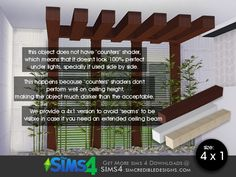 by SIMcredibledesigns.com  Found in TSR Category 'Sims 4 Miscellaneous Decor'