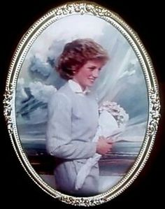 Princess Diana Commemorative Plate, entitled Water