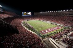 Camp Randall under the lights is probably one of the best things to experience