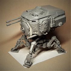 Taurox conversion with dunecrawler legs 10 - Taurox conversion with dunecrawler legs 10 - Gallery Warhammer 40k Memes, Warhammer Figures, Warhammer Models, Warhammer 40k Miniatures, Warhammer 40000, 40k Imperial Guard, Imperial Knight, Guardia Imperial 40k, 40k Armies