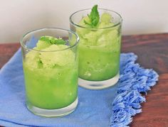 Cucumber, Lime and Mint Cooler