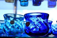 Blue..Ryukyu glass(Okinawa)