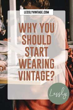 Not only is choosing vintage a sustainable fashion choice, but it is also an instant creativity booster. While wearing a literal piece of history is intriguing in itself, combining a vintage garment with more modern pieces gives you almost instant access to creating your own personal style. I strongly believe in wearing my values, meaning that I don't support fast fashion outlets. #slowfashion #wearvintage #vintagestyle #sustainablestyle #vintageoutfit #secondhandstyle #thrift Fast Fashion, Slow Fashion, Sustainable Fashion, Sustainable Style, Vintage Shops, Vintage Items, Vintage Outfits, Vintage Fashion, Dieselpunk