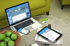 Webseiten-Design für eine Steuerberater Kanzlei.