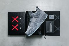 Jordan 4 KAWS Box Set