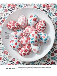 """I saw this in """"Chic Eggs"""" in Martha Stewart Living April 2017."""