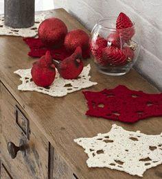 FREE Snowflake Doilies Crochet Pattern…
