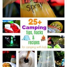 Over 25 Camping Tips, Hacks and Recipes for Camping with Kids Camping With Kids, Family Camping, Go Camping, Camping Hacks, Outdoor Camping, Camping Ideas, Camping Packing, Camping Guide, Back To Nature