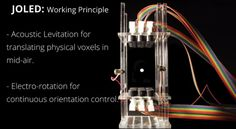 An interesting experimental display technology by the University of Sussex.