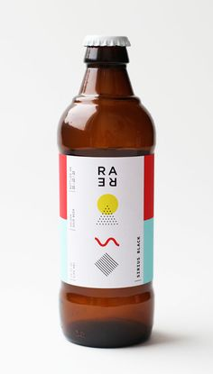 Mackenzie Freemire's Rare Barrel Sour Beer branding Bottle Packaging, Bottle Labels, Brand Packaging, Beer Bottles, Kombucha, Design Da Garrafa, Beer Label Design, Beer Brands, Design Web
