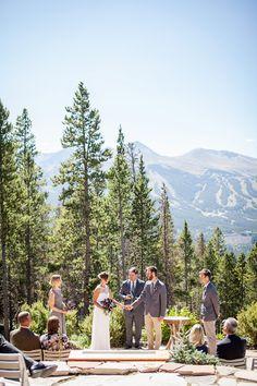 mountain top wedding | grace combs