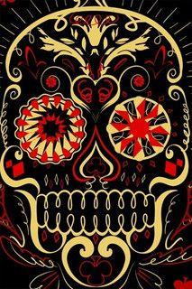 Mexican Skull by kiana_2002, via Flickr