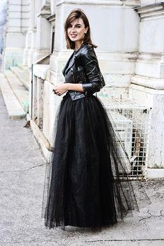 Moto + Tulle / Shape4 You Skirt