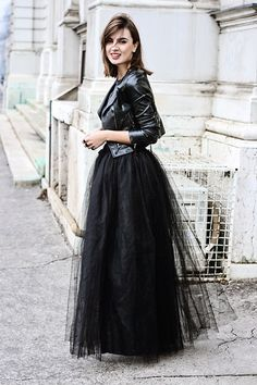 Moto + Tulle / Shape4 You Skirt