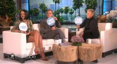 Rihanna and George Clooney Play a Sleepover Game on Ellen
