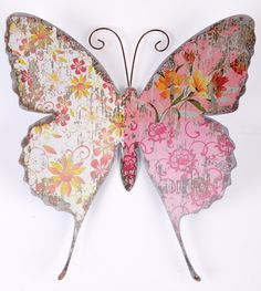 shabby chic butterfly.  <3 Ene 15 21 <3