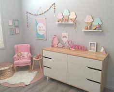 pastel girls room