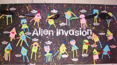 Aliens classroom display photo - Photo gallery - SparkleBox