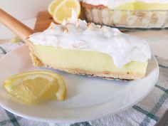 Lemon Pie ή αλλιώς Τάρτα Λεμονιού – Beets me My Dessert, Greek Recipes, Beets, Cheesecake, Vegan, Desserts, Food, Kitchen, Pies